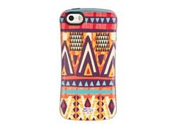 کاور طرح  مثلث رنگی مناسب برای گوشی موبایل اپل ایفون