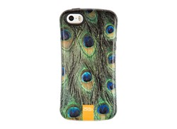 کاور طرح پر طاووس مناسب برای گوشی موبایل اپل ایفون