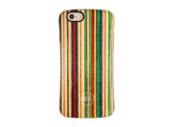 کاور طرح خطوط رنگی مناسب برای گوشی موبایل اپل ایفون
