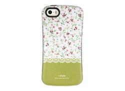 کاور طرح گل گلی سبز مناسب برای گوشی موبایل اپل ایفون