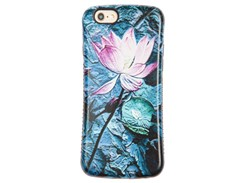 کاور طرح گل مرداب مناسب برای گوشی موبایل اپل ایفون