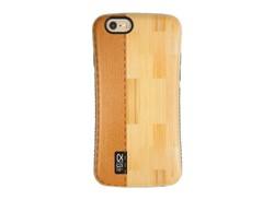 کاور طرح Wood and leather مناسب برای گوشی موبایل اپل iPhone