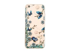 کاورژله ای مدل Butterfly paradiser مناسب برای گوشی موبایل اپل