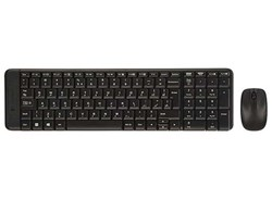 کیبورد و ماوس مدلLogitech MK220 Wireless Keyboard and Mouse