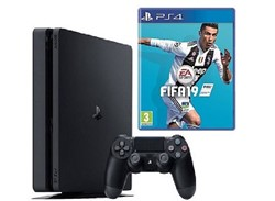 SONY PlayStation 4 Slim Region-2 CUH-2216A with 500GB HDD Game Bundle Fifa2019 Console<br /> <div><br /> </div> <br />