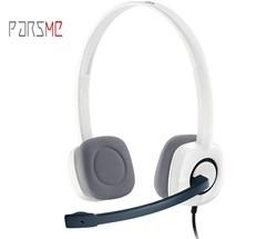 هدفون لاجیتک مدل logitech H150 stereo headset